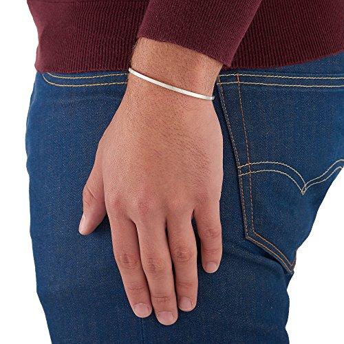 Arque - Bracelet - Plaqué argent - 15.8 cm - CUB-A002S