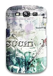 New Style Tasha P Todd Hard Case Cover For Galaxy S3- Bleach