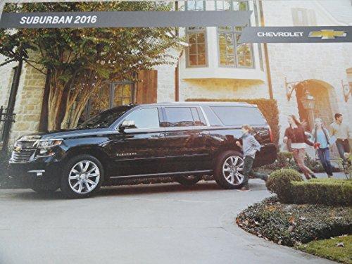 2016 Chevy Chevrolet Suburban Sales Brochure
