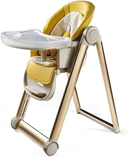 ZXQZ Baby High Chair, Children's Dining Chair Multi Function