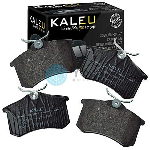 Kale Rear Axle Set of Brake Pads Brake Pads: