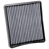 K&N VF3000 Washable & Reusable Cabin Air Filter Cleans and Freshens Incoming Air for your Chevrolet, Buick