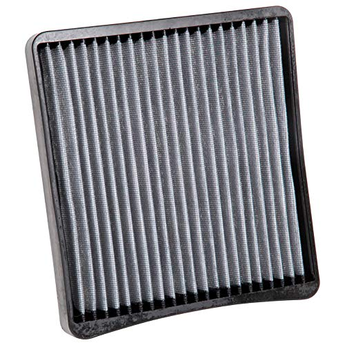 K&N VF3000 Washable & Reusable Cabin Air Filter Cleans and Freshens Incoming Air for your Chevrolet, Buick (2005 Pontiac Grand Prix Cabin Air Filter)