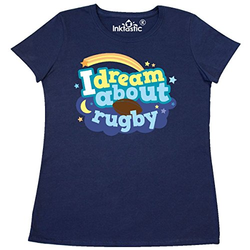 1401 Rugby (Inktastic - Rugby Lover Sports Dream Women's T-Shirt XX-Large Navy Blue)
