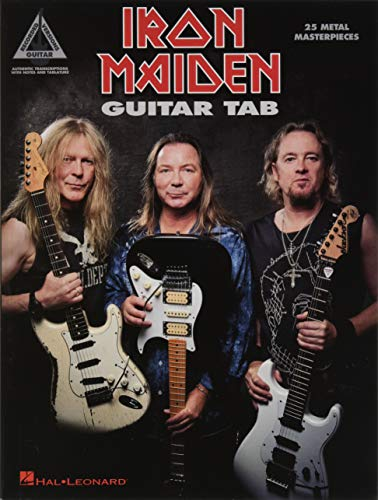 Iron Maiden - Guitar Tab: 25 Metal Masterpieces (Guitar Recorded Version) ()
