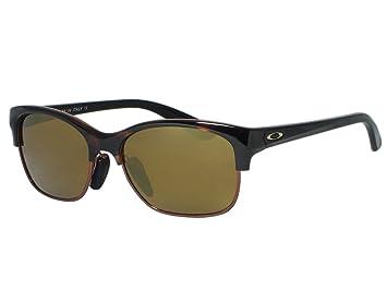 oakley womens rsvp iridium sport sunglasses  oakley rsvp oo9204 04 tortoise / gold iridium sunglasses