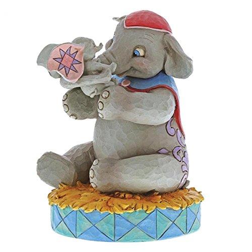 Jim Shore Disney Traditions by Enesco 6000973 Mrs Jumbo and Dumbo Figurine