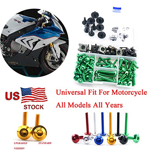 Complete Bolt Motorcycle Fairings Clips Kits 1 Set For Honda CBR600F3 1997 1998