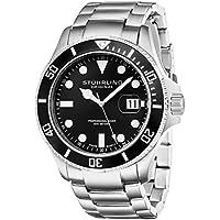 Men's 417.02 Aquadiver Regatta Espora Analog Swiss Quartz Silver Stainless Steel Watch