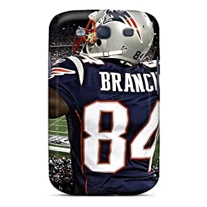 Hot Fashion GzZ10375CiPN Design Cases Covers For Galaxy S3 Protective Cases (new England Patriots)