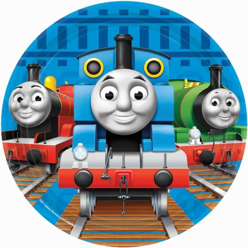 Thomas & Friends Dessert Plates 8 Ct. (Thomas And Friends Costumes)