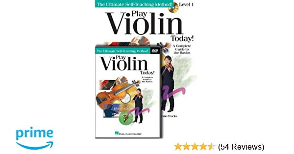Amazon com: Play Violin Today! Beginner's Pack: Level 1 Book