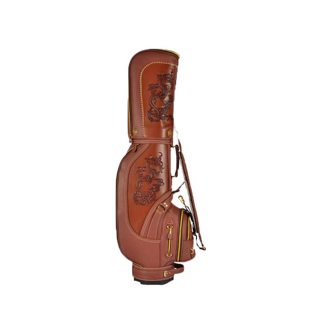 ゴルフクラブバッグウェイカートトロリーバッグカート防水素材とドライポケットシリーズゴルフトロリーカートバッグ  C B07K7KR37L