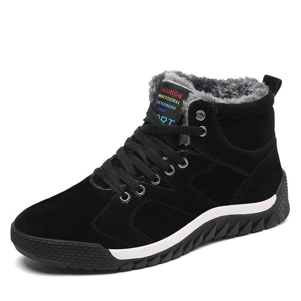 UCNHD Wanderhalbschuhe Winter Warme Outdoor Turnschuhe Männer Wanderschuhe Männer Freizeitschuhe Männer Schuhe Sohlen