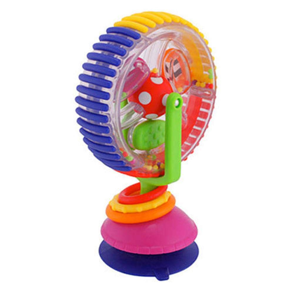 Ferriswheel Rotating Windmill Bell for Baby Rattles Toys Doll Plush