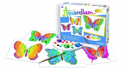 Sentosphere Aquarellum - Butterflies