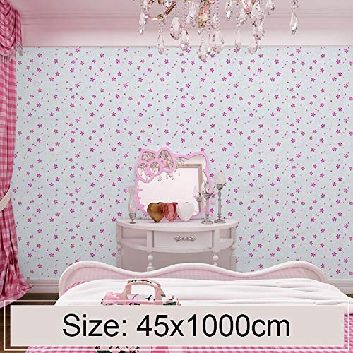 (Dig dog bone Powder Cerise Blossom Creative 3D Stone Brick Decoration Wallpaper Stickers Bedroom Surviving Room Wall Waterproof Wallpaper Roll)