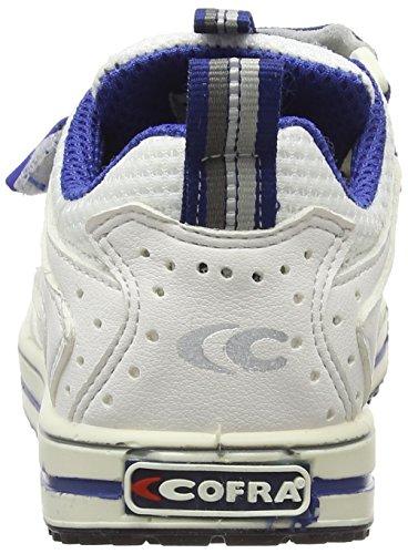"""Cofra 35120–002.w36taglia 36""""Fade S1P SRC ESD Scarpe di sicurezza, colore: bianco/blu"""