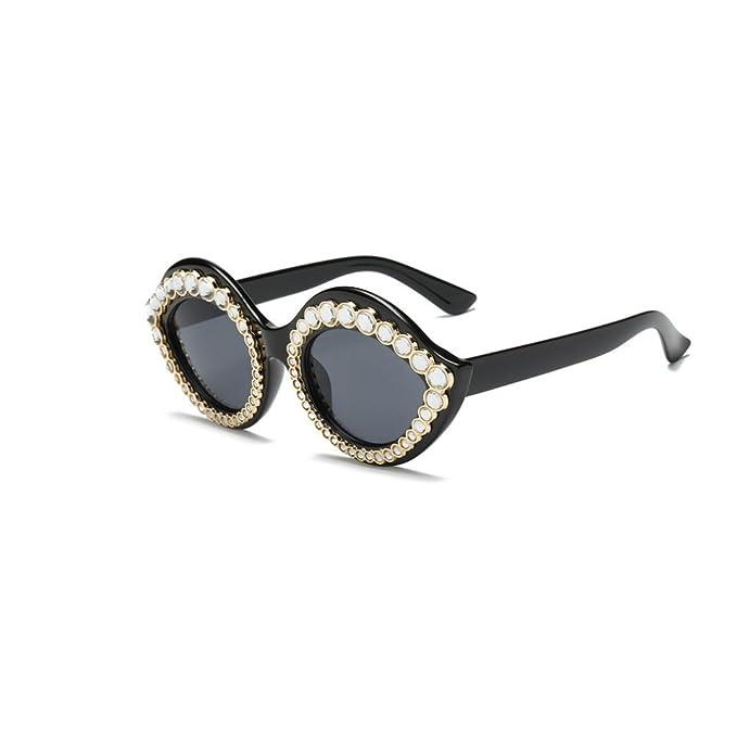 AiweijiaWomens Fashion Lips Gafas de sol estilo Cat Eye Mod ...