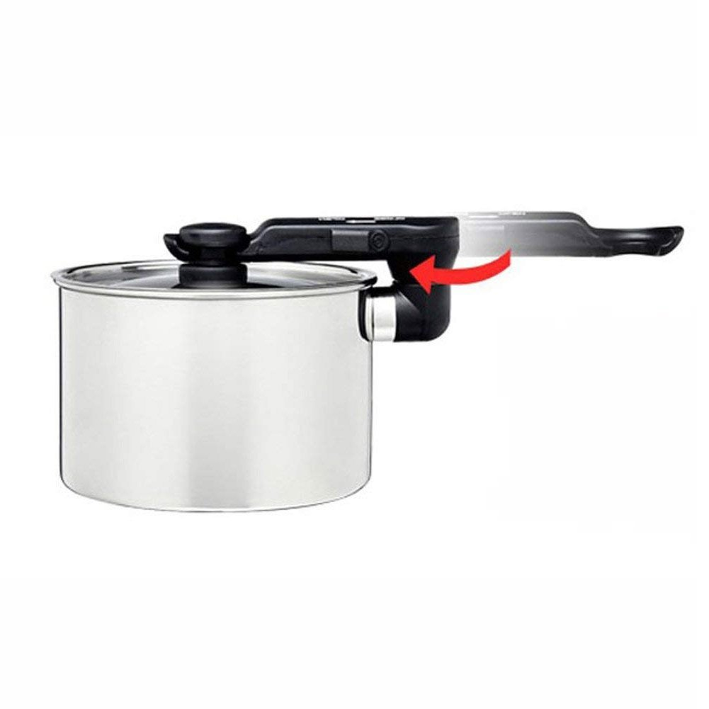 110V 220V Dual Voltage Electric Travel Cooker Portable Outdoor Camping Electric Cooker Hot Pot Teapot Stai Electric Hot Pot 7.2 x 6.4 x 5.1 BLES MC450