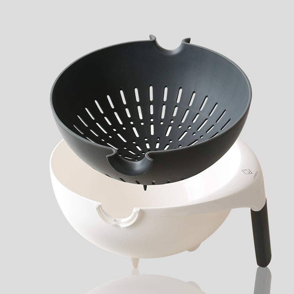 SXXDERTY-Abflusskorb SXXDERTY-Abflusskorb SXXDERTY-Abflusskorb Ablaufkorb mit Griff Multipurpose können umgedreht Lebensmittel waschen Schmutzfänger für Gemüse Obst Lagerung (Farbe    2, größe   28  28  13cm) B07GYMR8YX Krbe & Koffer Moderater Preis ad13a6
