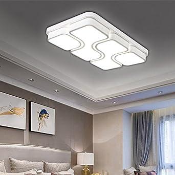 HG® 64W LED Deckenlampe Kaltweiß Deckenleuchte Design Angenehmes ...