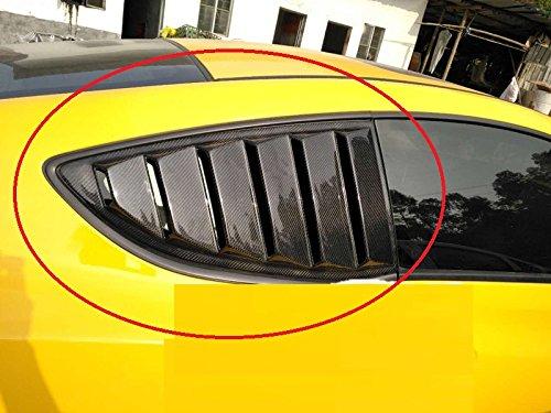 Eppar New Carbon Fiber Rear Window Vent 2PCS for Hyundai Genesis Coupe 2009-2013