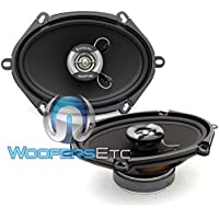 Focal R-570C 5 x 7 6x8 120W RMS 2-Way Auditor Series Coaxial Speakers