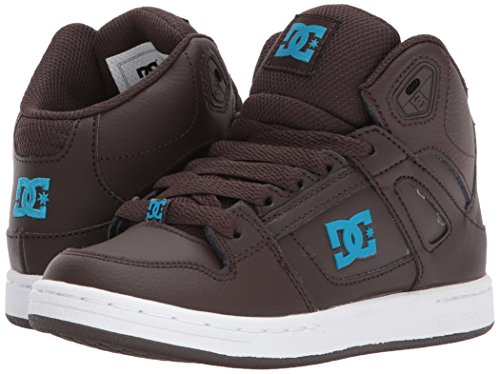 DC Shoes Youth Rebound Skate Shoe, Brown, 1.5 M US Little Kid by DC (Image #6)