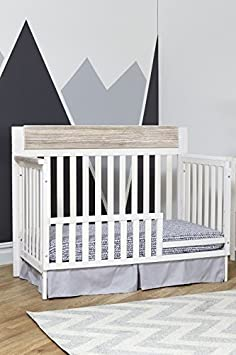 Suite Bebe Hayes 4 in 1 Convertible Crib White Natural