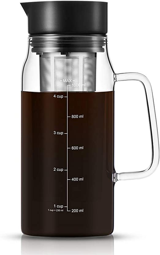 soulhand cafetera de Infusion Cortafríos café, cafetera de café té ...