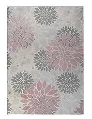 KAVKA D FMT-FM23-2X3-PLU114 Bloom Floor Mat,,24\