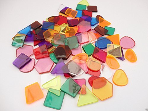 clear-colour-translucent-mosaic-plastic-shapes-tiles-art-craft-stained-glass-pack-size-250-by-a2bsal
