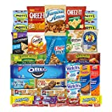 Snacks Care Package - Chips, Cookies, Candy Assortment Bundle Gift Pack and Variety Box 30 Count