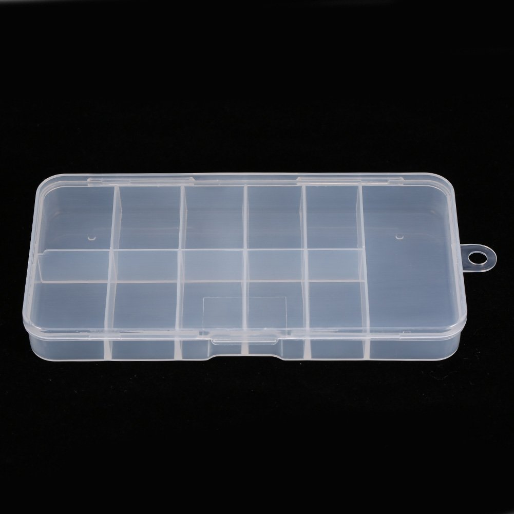Nail Tip Storage Box, Asixx New Useful Durable Plastic Nail Art Empty Storage Case Holder Container Box Tool Non-toxic Special for Nail Art by Asixx (Image #4)