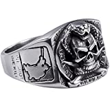 united states army ring - Stainless Steel Sniper United States US Army Military Skull Ring Size 7-13