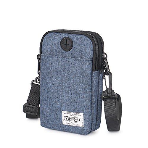 Cell Phone Shoulder Bag JOSEKO Canvas Small Crossbody Bag Purse