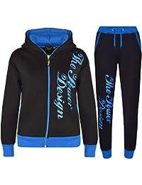 Boys Kids Blue Tracksuit 88 NYC Dream Team Athletes Tracksuit