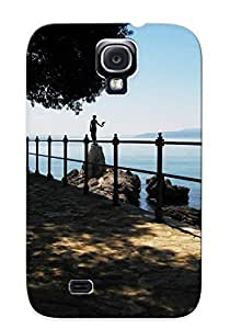 Galaxy S4 Flowers Case Cover With Simple Design Shock Absorbent Protective Tvvmtse2555HdWaW Case