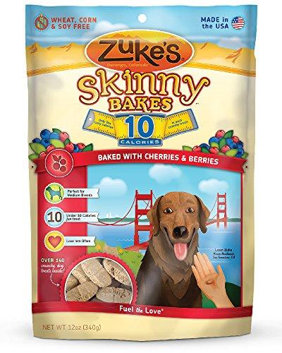 Zuke'S Skinny Bakes Dog Treats, Cherry And Berry, 10-Calories, 12-Ounce