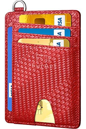 FurArt Slim Minimalist Wallet, Front Pocket Wallets, RFID Blocking, Credit Card Holder for Men Women