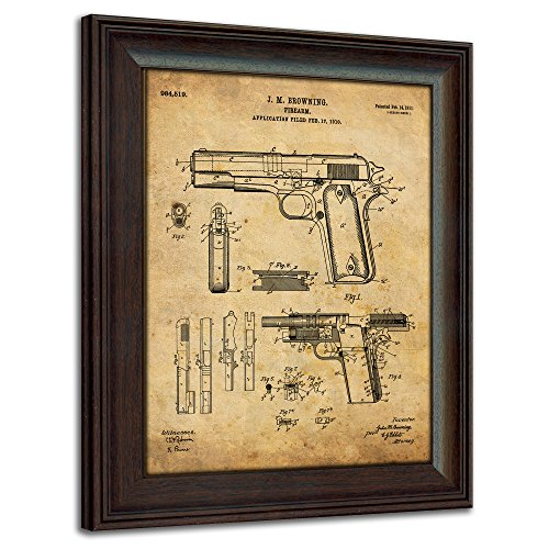 1911 Handgun Framed 14