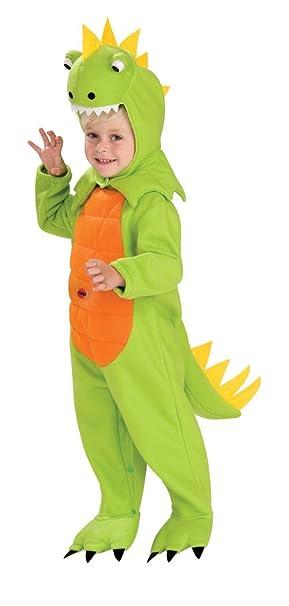 Rubies - Disfraz de Dinosaurio para niños, talla bebé 1-2 años (Rubie´s 885452-T)