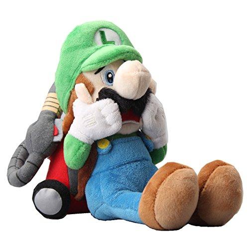 igi's Mansion Scared Luigi with Strobulb Plush 10