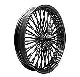 Ride Wright Wheels 18x10.5-50_GB-Rm_GB-Np_GB-Sp_GB-Hb Fat 50-Spoke Original ''Fat Daddy'' Omega Wheel Gloss Black Gloss Black