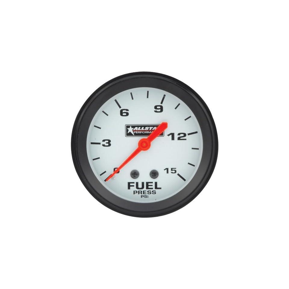15 PSI Mechanical Fuel Pressure Gauge with Allstar Logo Automotive