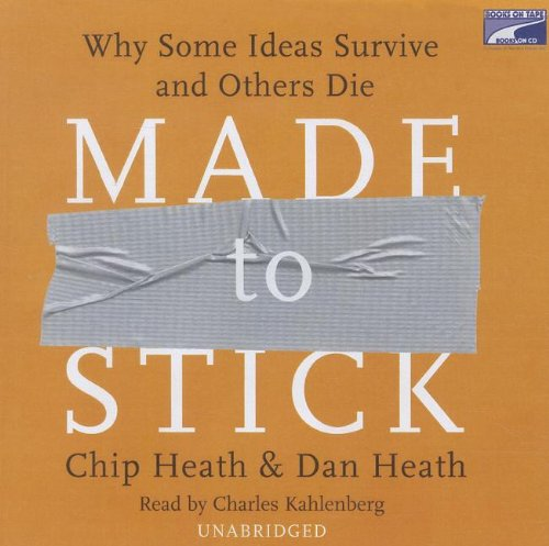 Made to Stick (Lib)(CD) by Books on Tape