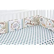 Levtex Home Baby Jungalo Animal Themed 4 Piece Crib Bumper