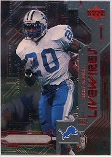 1999 Upper Deck Live Wires #L5 Barry Sanders NM-MT Lions