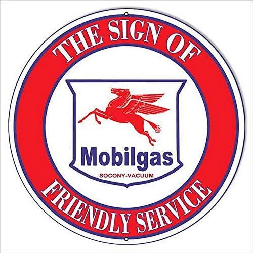 Vintage Mobil Gas Oil Pegasus socony vacuum Left